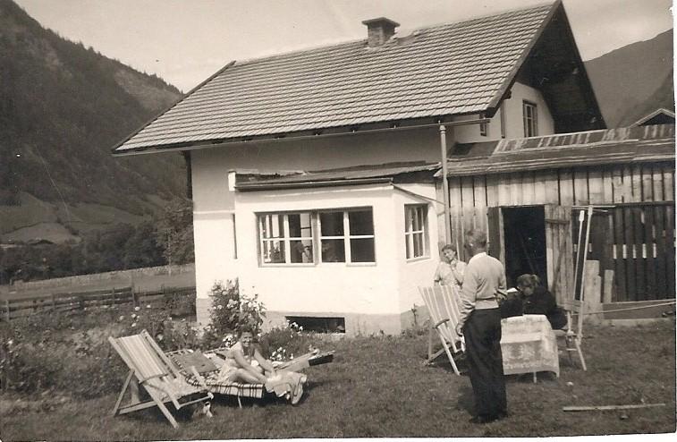 de bouw de Berghut Oostenrijk Rauris