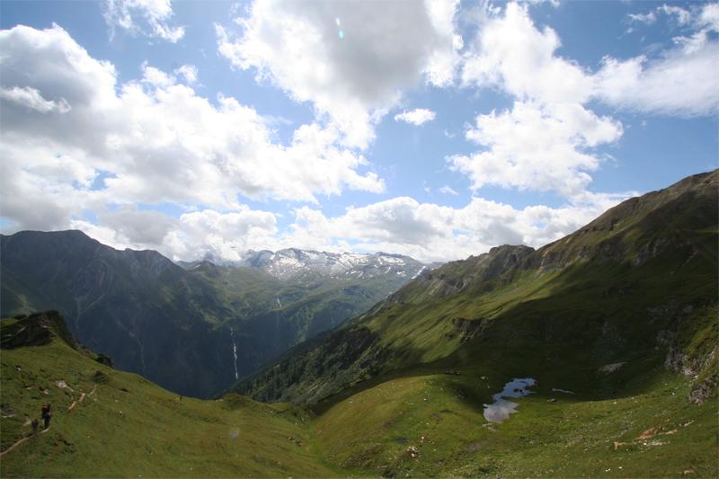 bergwandelen Eidelweissspitze Hirzkarkopf de Berghut Rauris Oostenrij