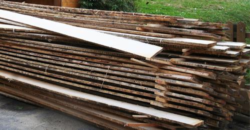 planken potdekselen de Berghut Rauris Oostenrijk wintersport
