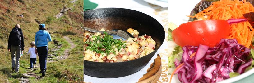 Irene koken kok de Berghut Oostenrijk Rauris eten