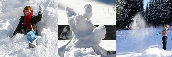 sneeuw in Kolm Saigurn Rauris Oostenrijk wintersport de Berghut kindvriendelijk