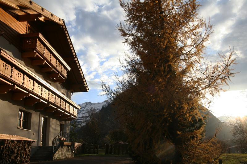 de Berghut herfst pension Oostenrijk Rauris