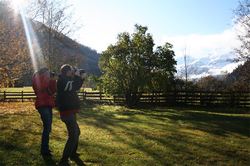 paparazzi de Berghut Rauris Oostenrijk pension herfst wandelen berg