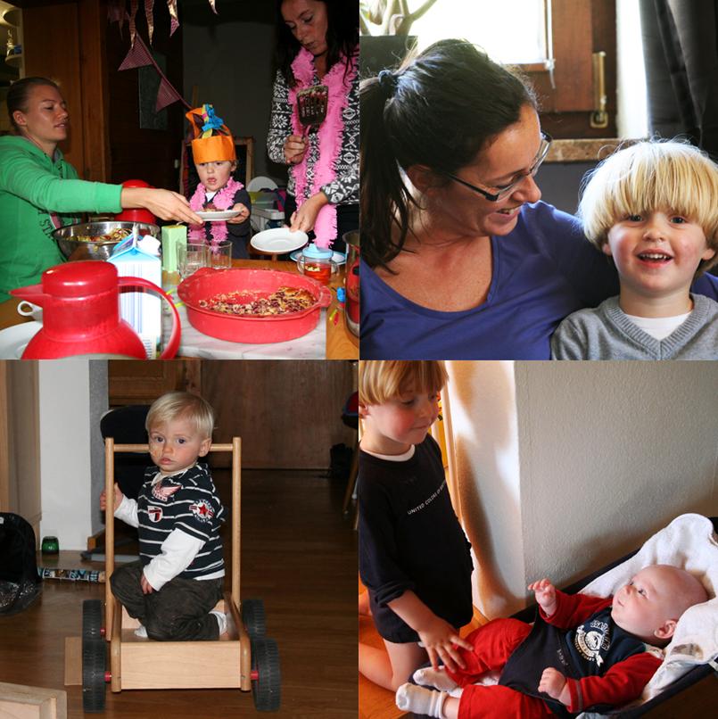kinderen gezinnnen families de Berghut pension Oostenrijk Rauris