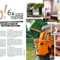 de Berghut als vakantietip in LIS magazine!