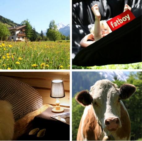 met kleine kinderen naar de Berghut op vakantie in Oostenrijk Rauris