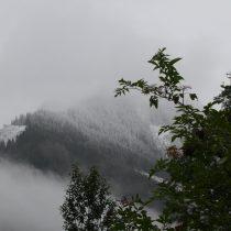 Sneeuw in de bergen!