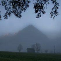 Zo werden onze bergen vanmorgen wakker
