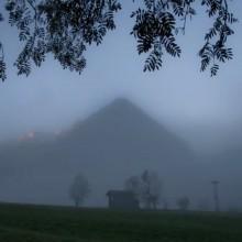 wakker worden van de bergen