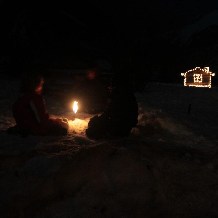 kerst in de Berghut
