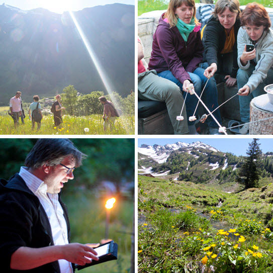 focusweek in de Berghut Oostenrijk