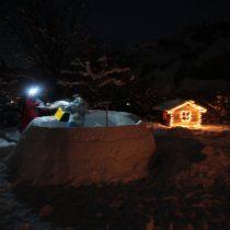 Mega-iglo in aanbouw!