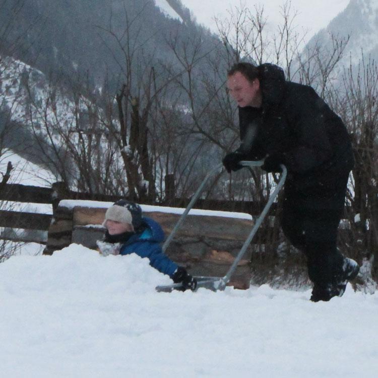 sneeuwtaxi
