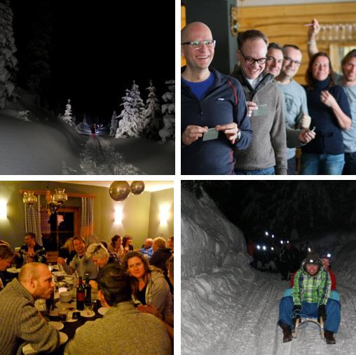 Boost Your Business Hans en Nel workshop ondernemers inspiratie de Berghut Oostenrijk wintersport skien