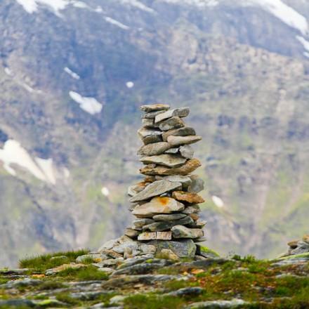 steenmannetje bergwandelen Oostenrijk de Berghut Hohe Tauern de Berghut Rauris