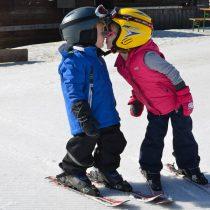 Op wintersport met kleine kids!