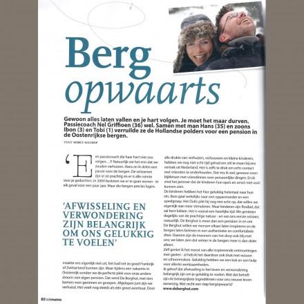 Keknana pers media journalisten bergen vakantieadresje in hotel pension de Berghut Rauris Oostenrijk