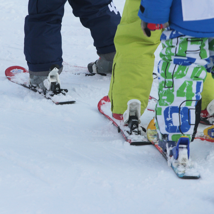 leren skien kids