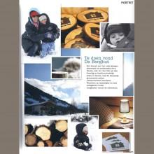 Kekmama pers media journalisten bergen vakantieadresje in hotel pension de Berghut Rauris Oostenrijk
