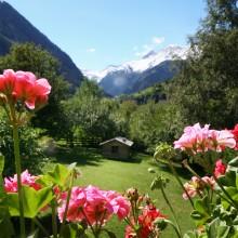 _uitzicht kamers beschikbaarheid pension de Berghut hotel in Oostenrijk Alpen kindvriendelijk