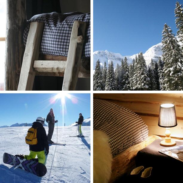 wintersport in de Berghut.com Oostenrijk lang weekend met vrienden Zell am See