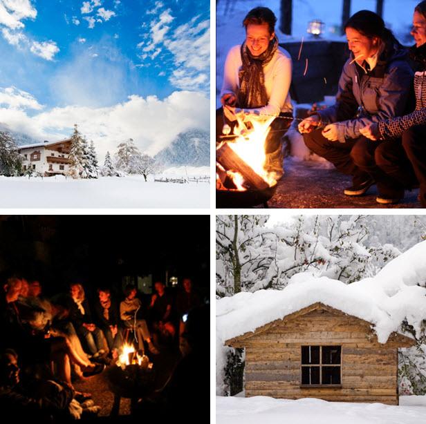 wintersport in de Berghut.com Oostenrijk lang weekend met vrienden