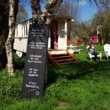 vergaderlocatie vergaderzaal op vakantie op een leuke camping in Nederland