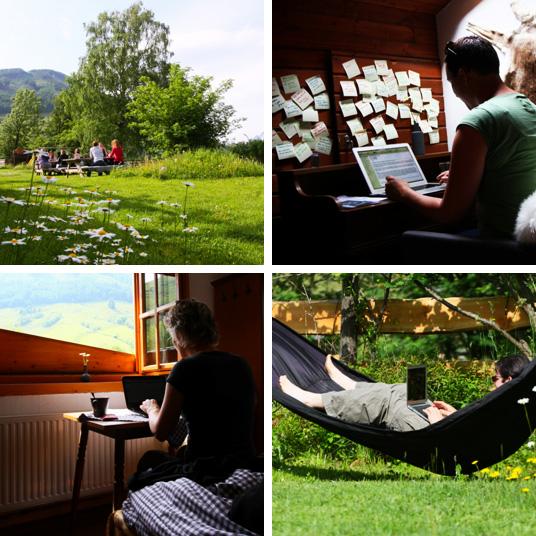 schrijfweek in de Berghut