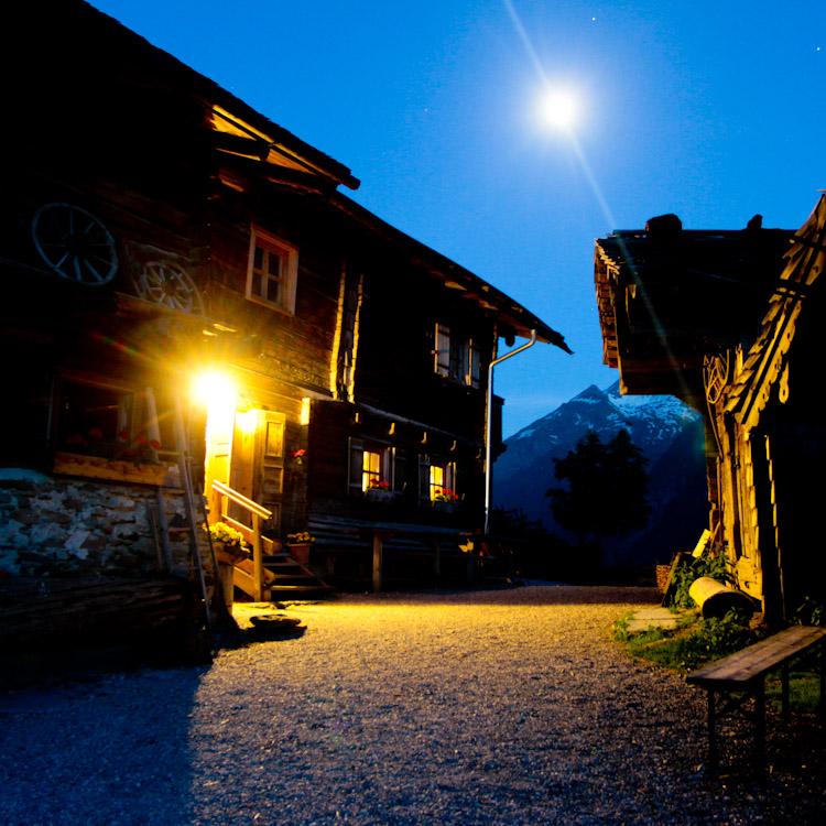 Inspiratieweek in de Berghut bij Roshwitha op de Broodbakalm in Rauris