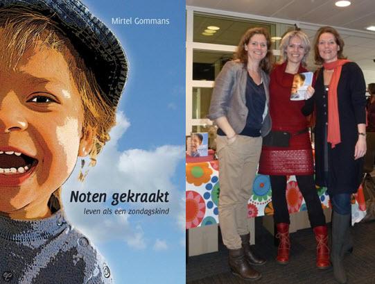 Karin Hoens, Mirtel Gommans, Mariska Bosman Noten gekraakt schrijfweek in de Berghut