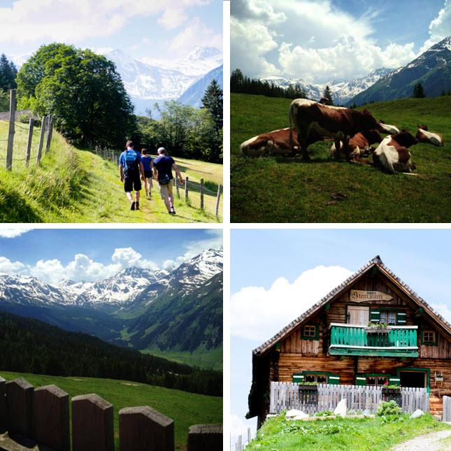 bergwandeling inspiratieweek in de Berghut naar Stanzalm Rauris