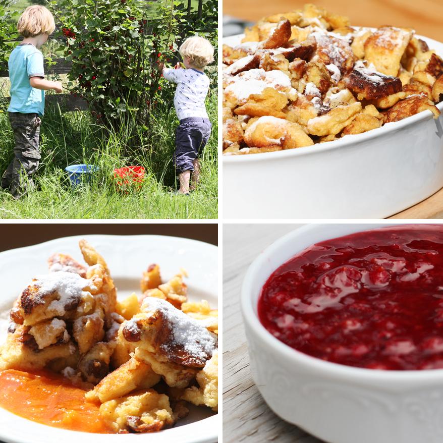 kaiserschmarrn zomer recept eten in de berghut