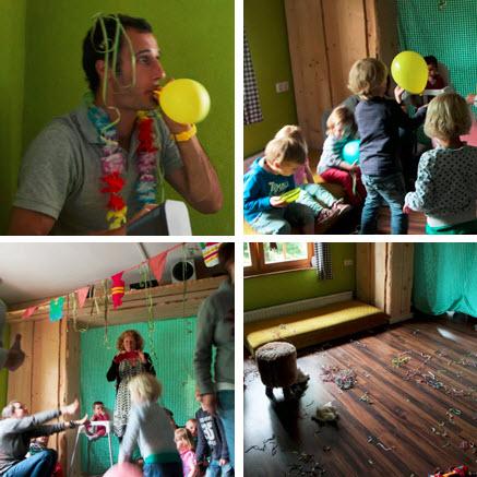 kinderdisco in de Berghut Oostenrijk Jonge Gezinnenweken