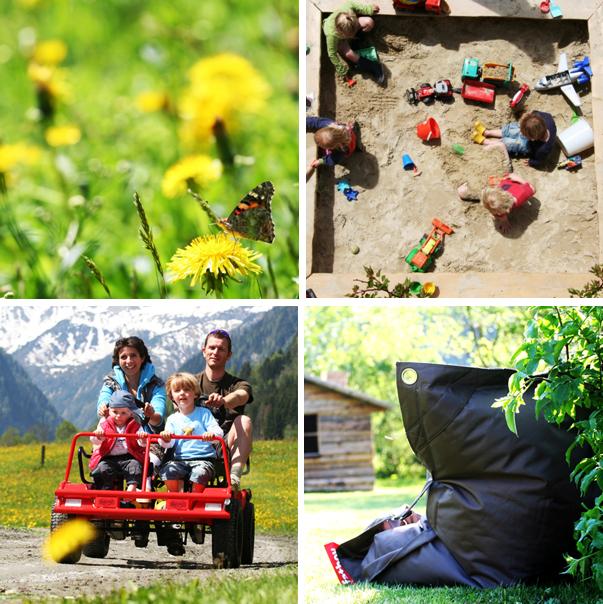 zomerse Jonge Gezinnenweek in de Berghut in Oostenrijk kindvriendelijk vakantieadres