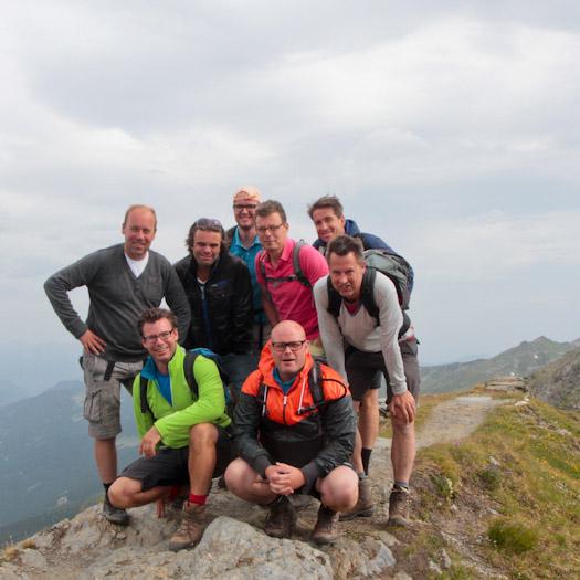 bergwandelen naar berghut Niedersachsenhaus in het raurisertal vanuit de Berghut (15 van 20)