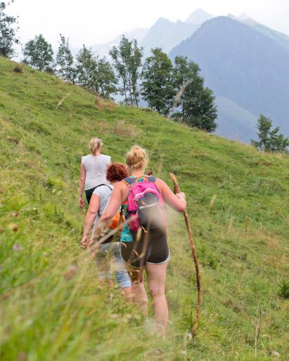 berwandelen in het raurisertal bij de berghut (10 van 15)