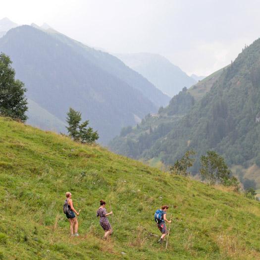 berwandelen in het raurisertal bij de berghut (11 van 15)
