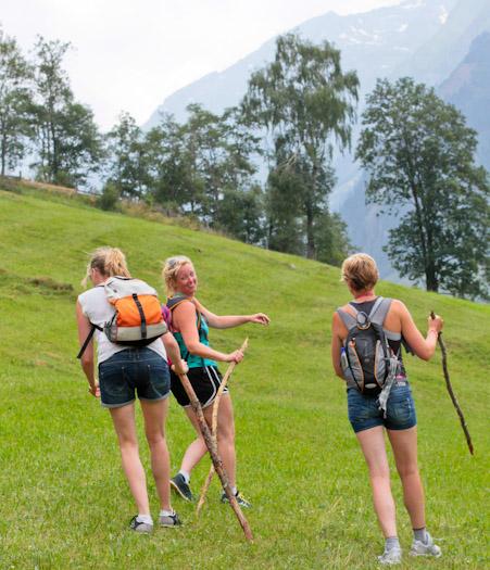 berwandelen in het raurisertal bij de berghut (13 van 15)