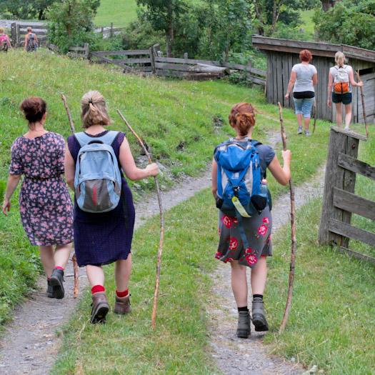 berwandelen in het raurisertal bij de berghut (14 van 15)