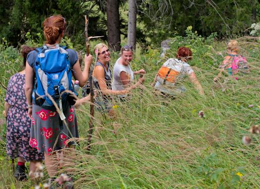 berwandelen in het raurisertal bij de berghut (3 van 15)
