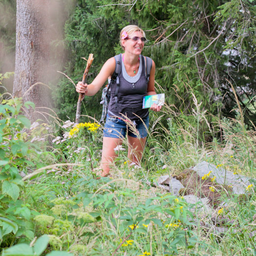 berwandelen in het raurisertal bij de berghut (4 van 15)