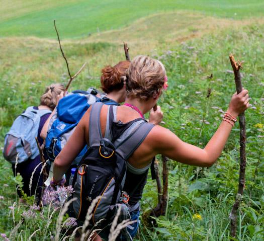 berwandelen in het raurisertal bij de berghut (7 van 15)