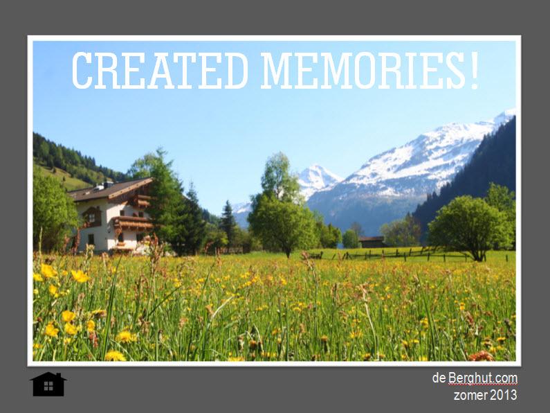 de Berghut - created memories zomer 2013 wandelen in de bergen met kinderen