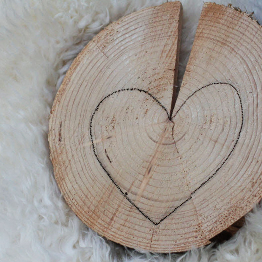 hartje op hout - hartjeszomer de Berghut