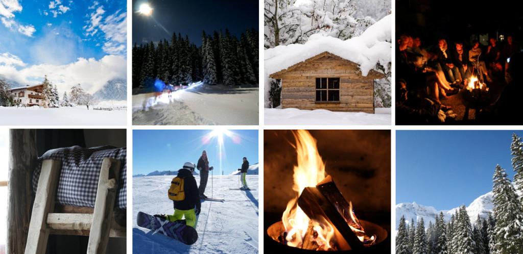 winter kleinschalig pension de Berghut Oostenrijk wintersport Rauris