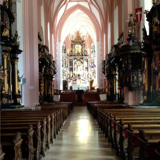 kerk mondsee trouwen sound of music vierkant