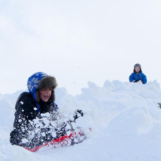 sleeen in de Berghut, wintersport met kinderen kindvriendelijk Oostenrijk (10)