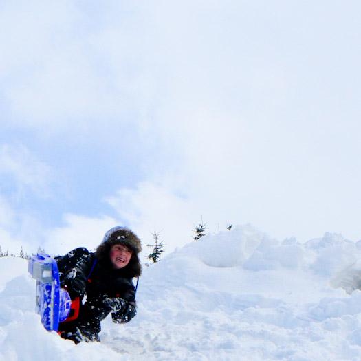 sleeen in de Berghut, wintersport met kinderen kindvriendelijk Oostenrijk (17)