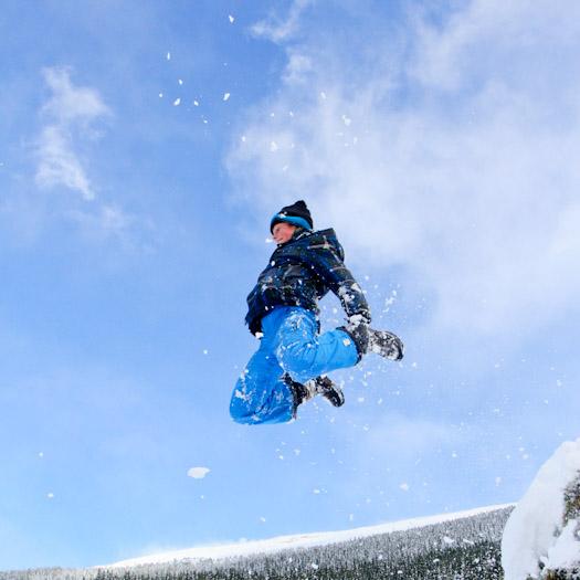 sleeen in de Berghut, wintersport met kinderen kindvriendelijk Oostenrijk (20)