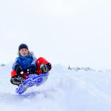 sleeen in de Berghut, wintersport met kinderen kindvriendelijk Oostenrijk (23)